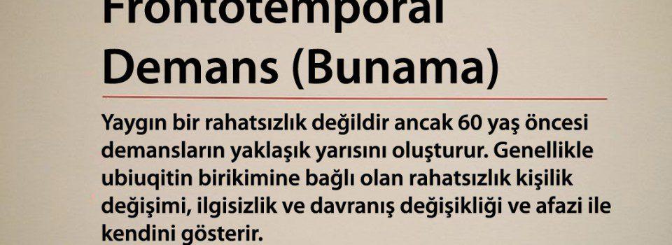 Frontotemporal Demans (Bunama)
