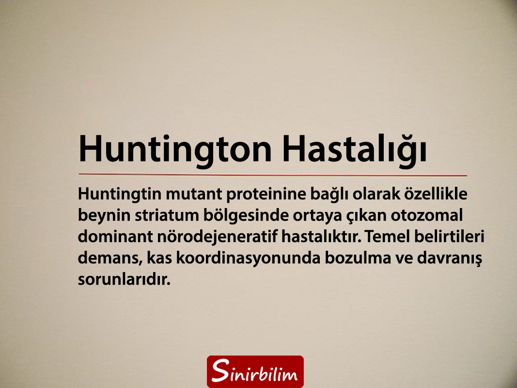 Huntington Hastalığı