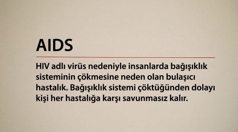 AIDS (Edinilmiş Bağışıklık Eksikliği Sendromu)