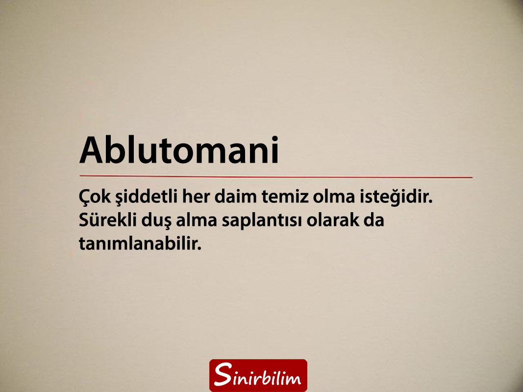 Ablutomani
