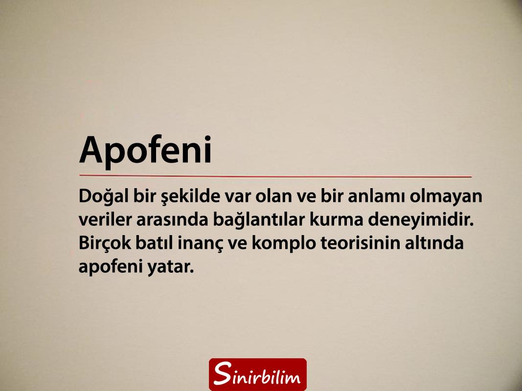 Apofeni