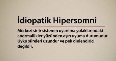 İdiopatik Hipersomni