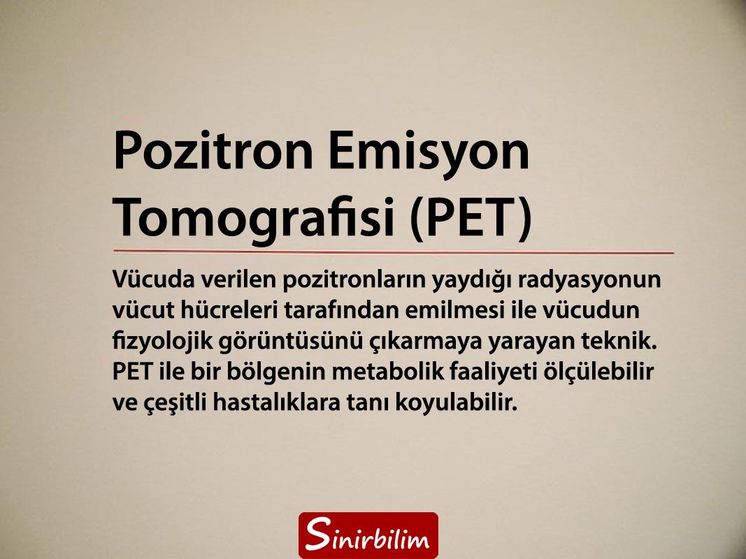 Pozitron Emisyon Tomografisi (PET)