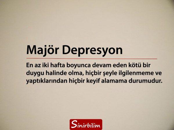 Majör depresyon