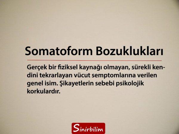 Somatoform Bozuklukları