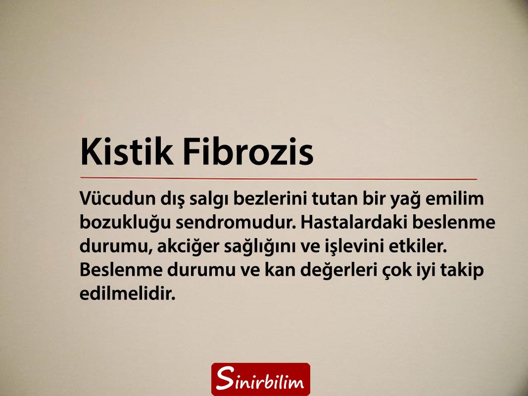Kistik Fibrozis Hastalığı Nedir